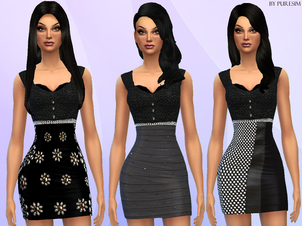 Black&Grey Dresses by Puresim