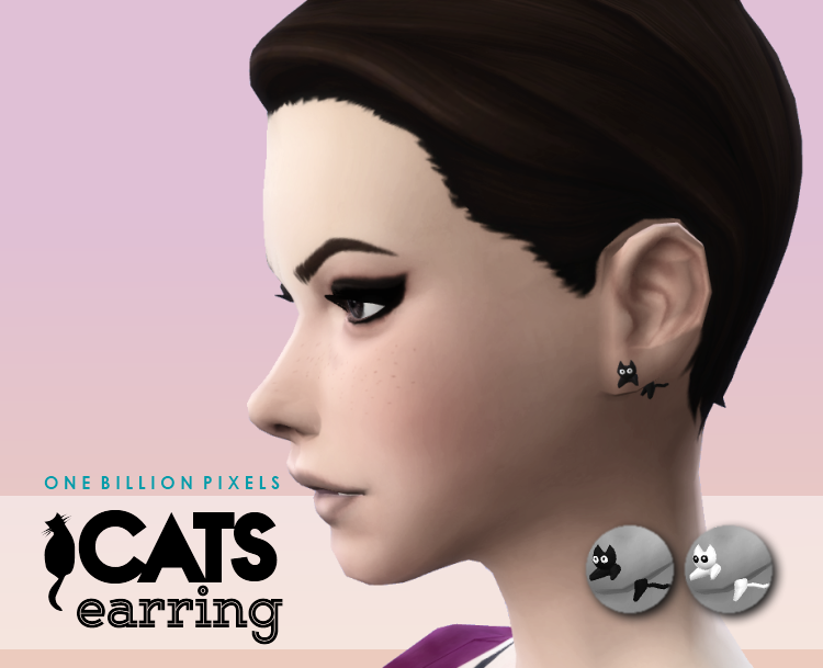 Cats Earring by NewOne