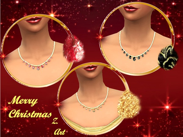 Christmas Jewelery by Zuckerschnute20