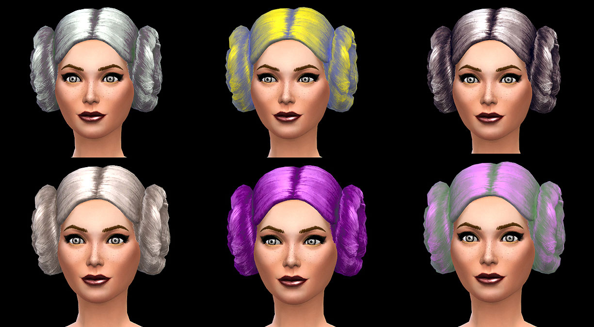 Macaroons Hair recolors by Simalicious