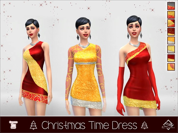 Christmas Time Dress by Devirose