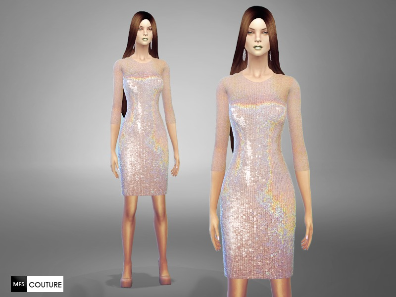 Sequin Tight Dress BY MissFortune