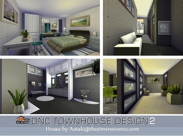 DNC Townhouse Design 2 by autaki