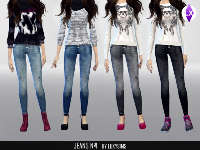 Jeans n1 by LuxySims3