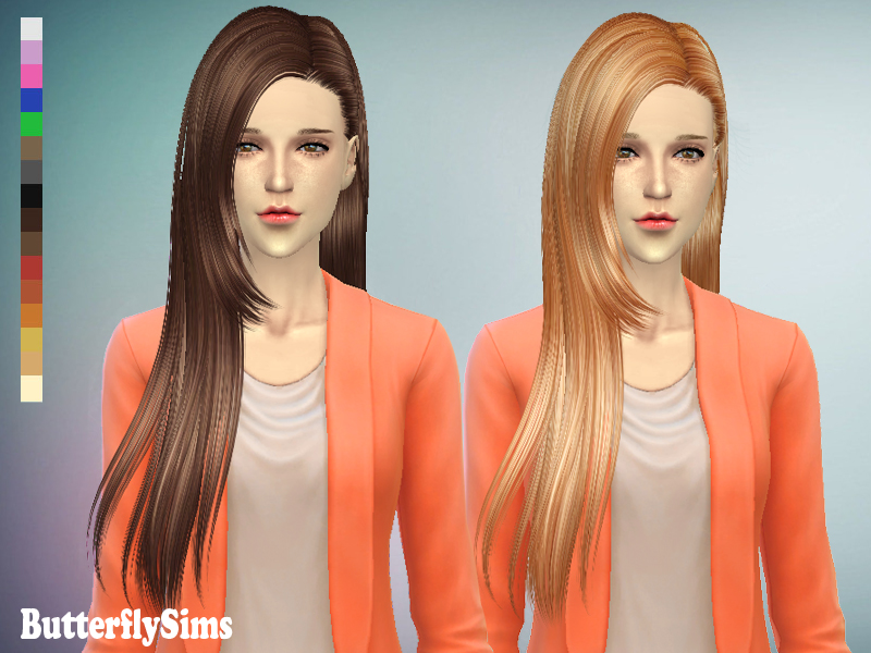 Hairstyle 125 by Butterflysims