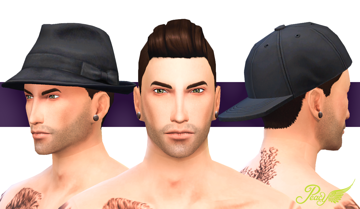 Peacemaker ic Shaved Pompadour - Male Hair Edit