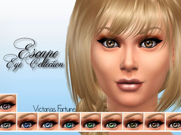 Victorias Fortune Escape Eye Collection by fortunecookie1