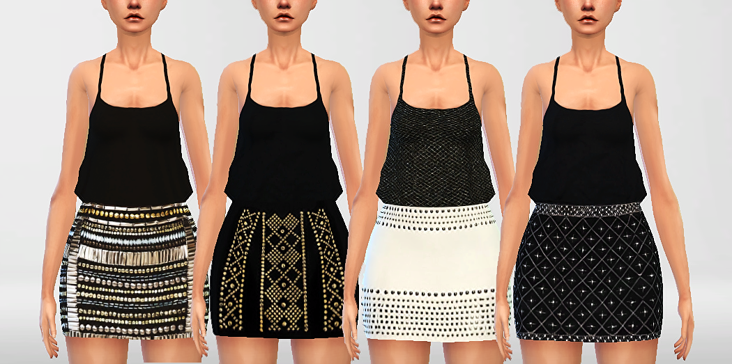 Beaded Dresses by PureSims