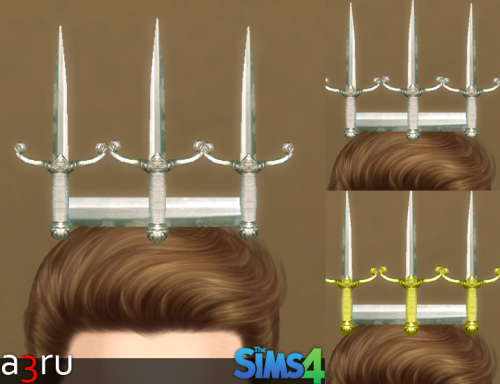 Dagger Crown for Males & Females by A3ru