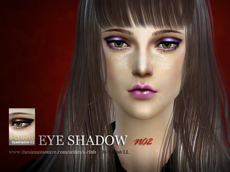 S-Club LL thesims4 Eye shadow02