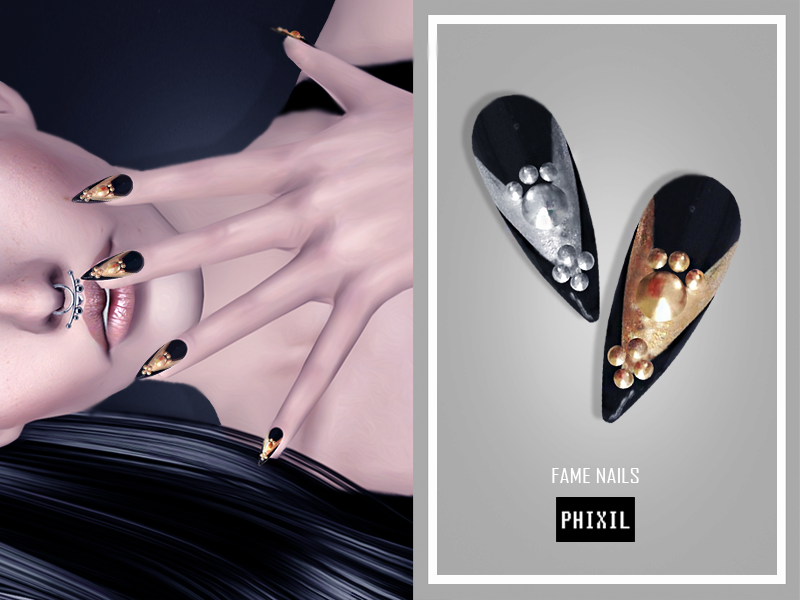 Fame Nails by Phixil