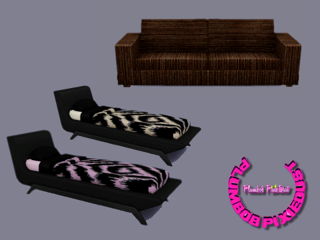 Sofa & Bed Recolors by PlumbobPixiedust