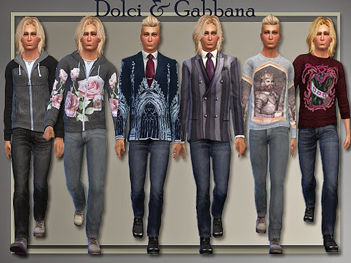 Dolce & Gabbana Separates for Teen - Elder Males 2014 by Judie