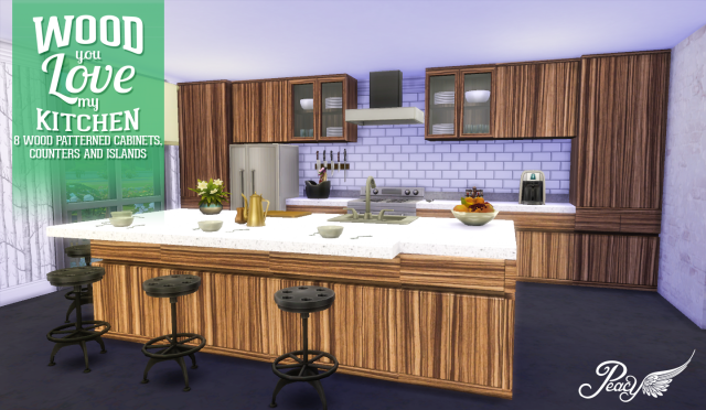 Wood You Love My Kitchen by Peacemaker ic