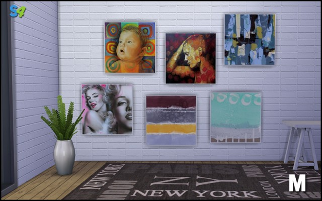 Peintures Dcoration 1-2 by Mango Sims