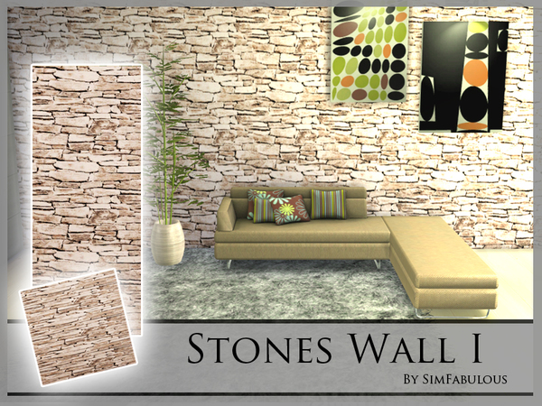Stones Wall I by SimFabulous