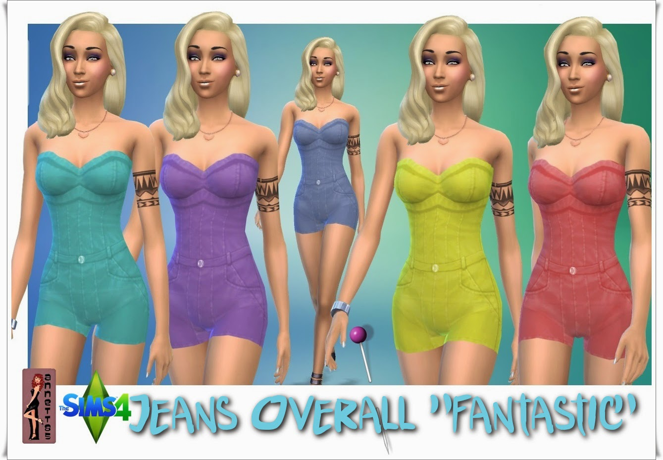 Fantastic Jeans Overall by Annett85