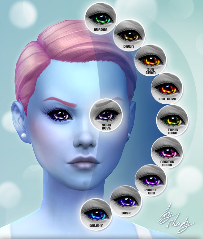 Not of This World - 10 Custom Alien Eyes by -Shady-