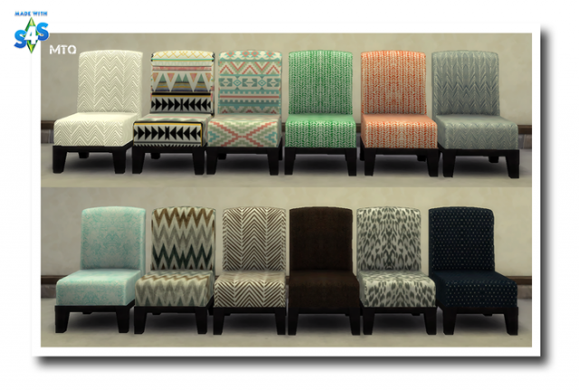 Lap Of Luxury Modern Chair Recolors by MsTeaQueen