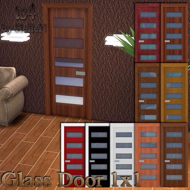 Glass door by HelleN