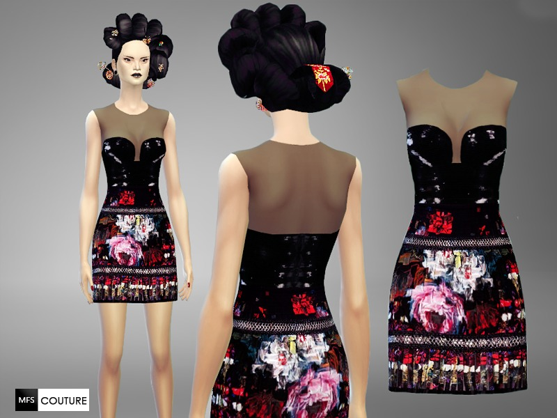 Lotus Dress  BY MissFortune