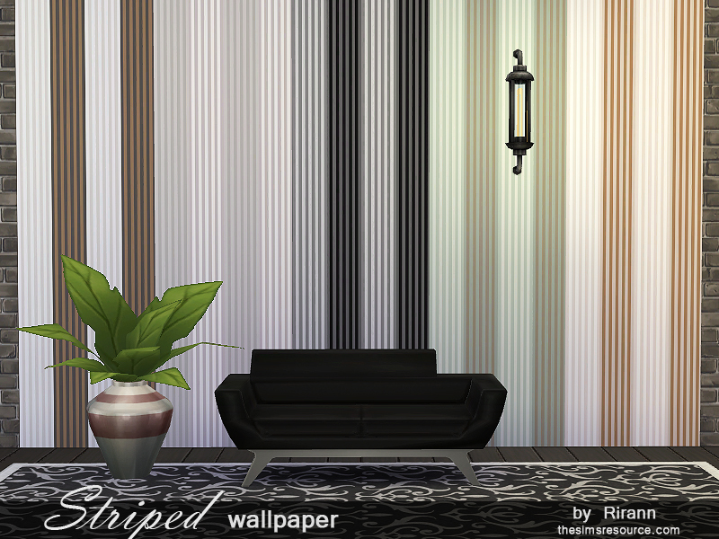 Striped Wallpaper BY Rirann