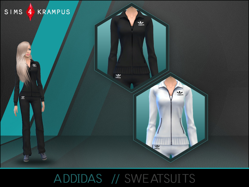 Addidas Sweatsuits BY SIms4Krampus