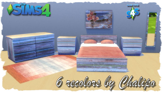 Bedroom Recolors by Chalipo