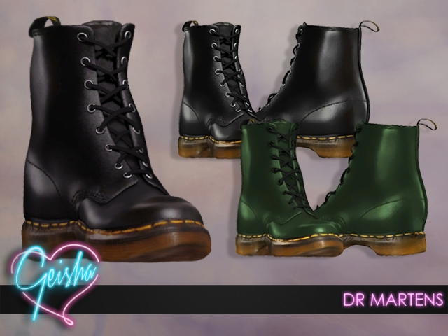 DrMartens Boots by GeishaSims