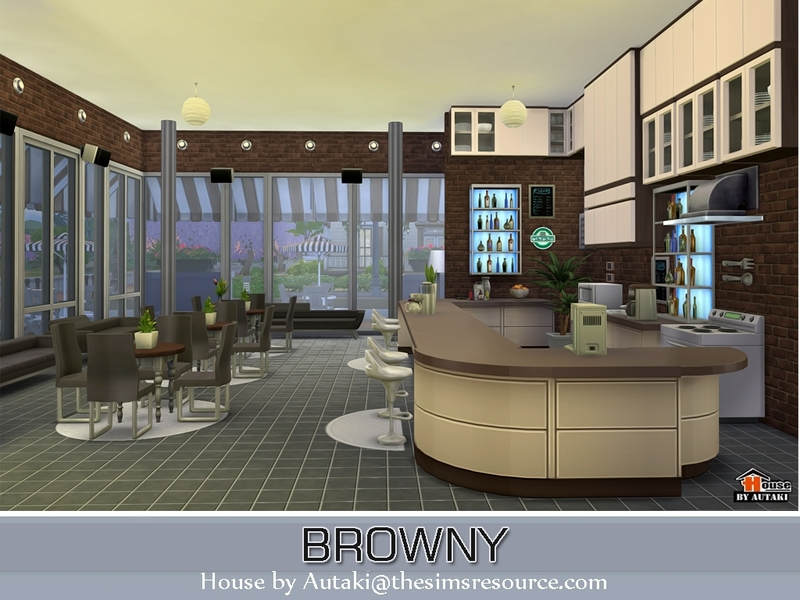 Browny Bar and Restaurant BY autaki
