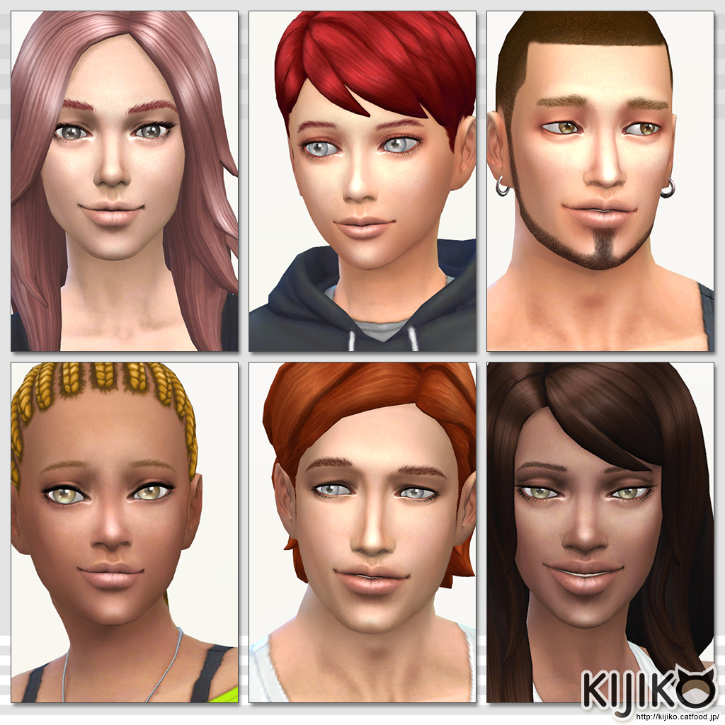 Skin Tone Glow Edition, Skin Texture Overhaul and Body hair by Kijiko