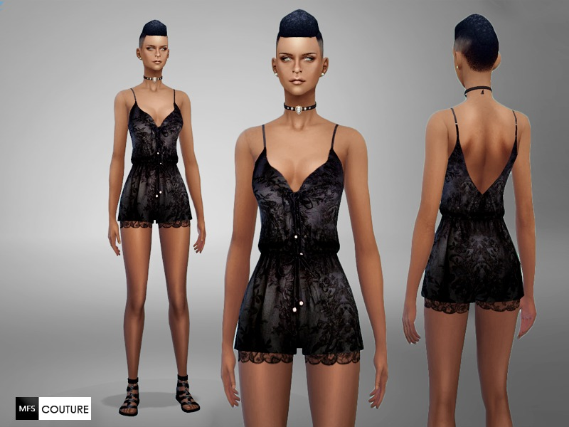 Lace Romper BY MissFortune