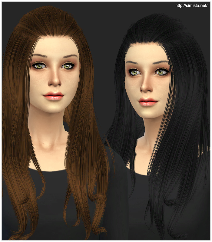 Alesso Aurora Hair Retexture at Simista