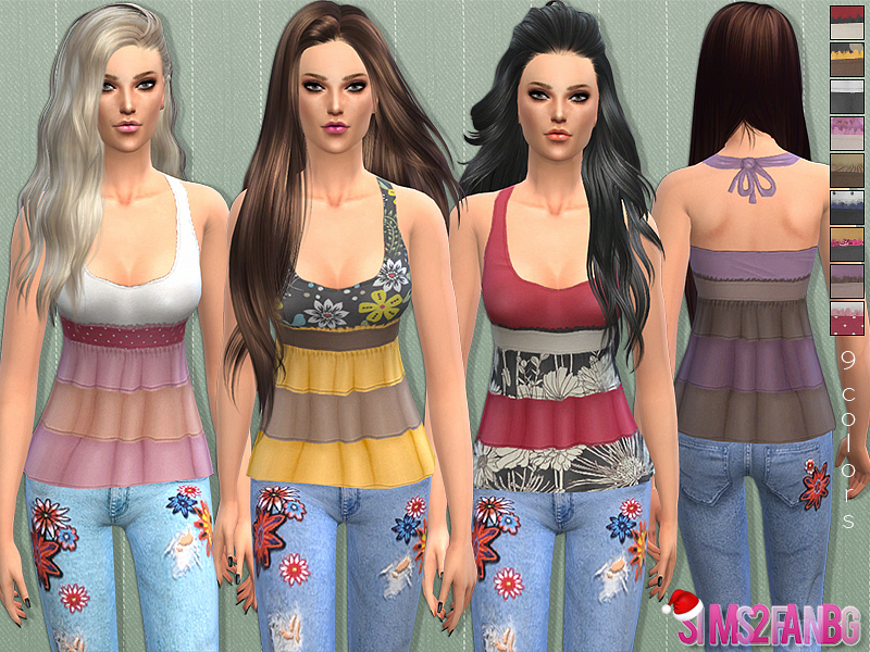 31 - Tank top  BY sims2fanbg