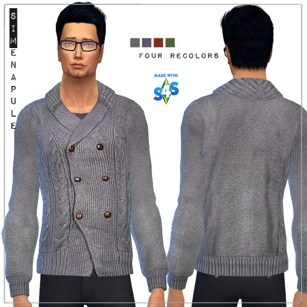 Sweater for males by Ronja