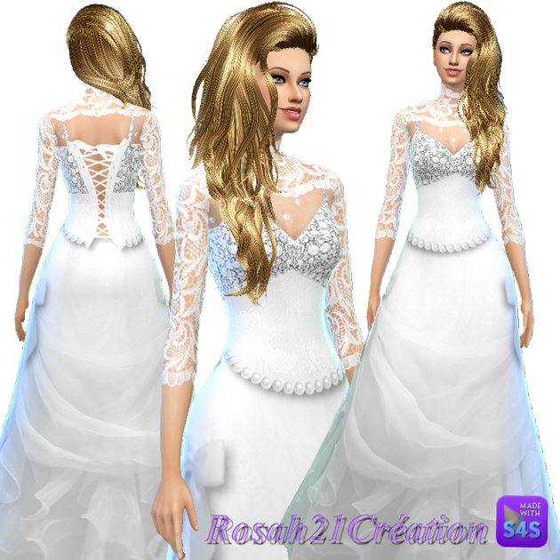 Duchesse dress by Rosah21