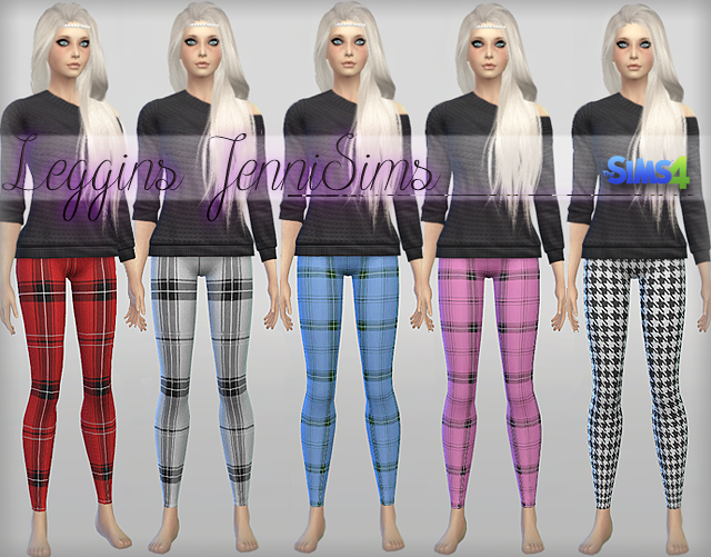 Leggings Collection at JenniSims