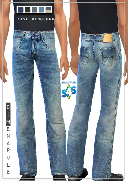 Male Jeans 01 by Ronja