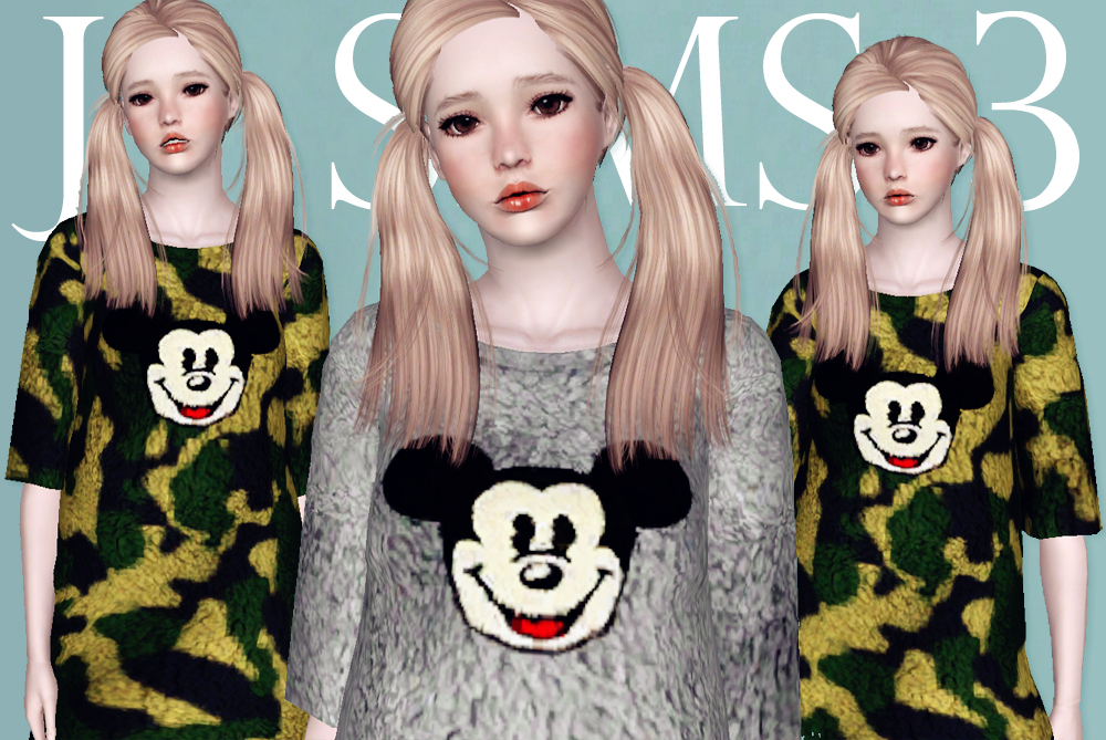 Mickey Lamb Sweater by JS Sims 3