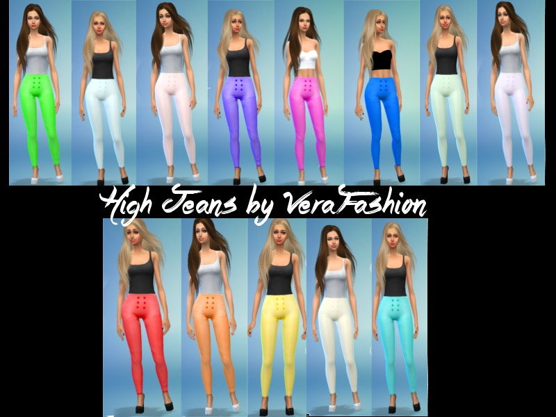 High Jeans BY VeraFashion