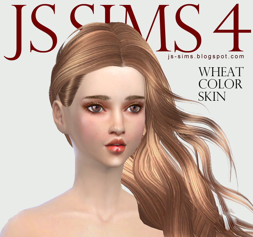 Wheat Color Skin by JS Sims 4