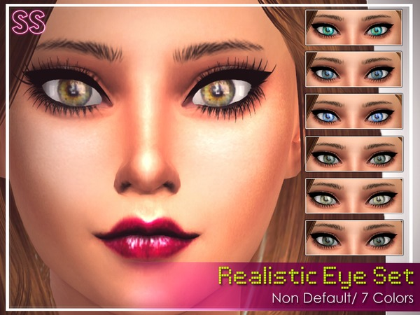 Realistic Eyes by SenpaiSimmer