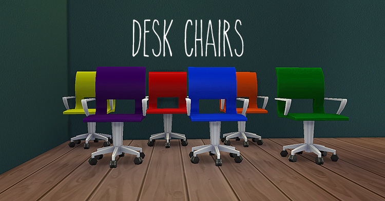 Desk Chair Recolors by Egosandlies
