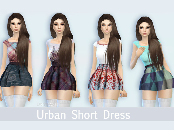 Urban Short Dresses by UKTRASH