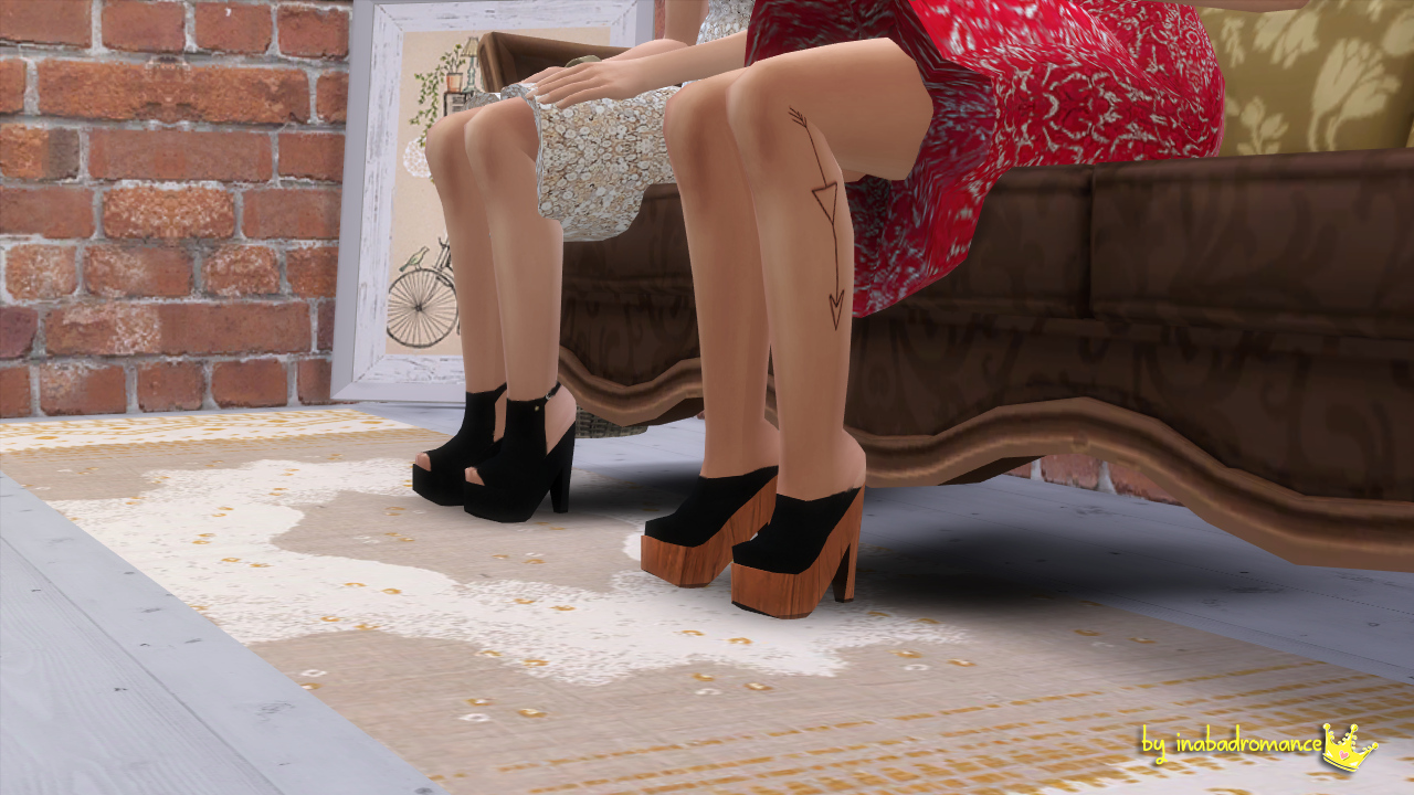 Shoes for Teen - Elder Females by Inabadromance