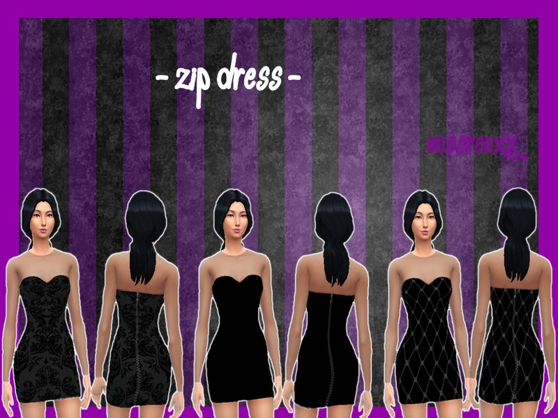 Zip Dress BY missrenxx