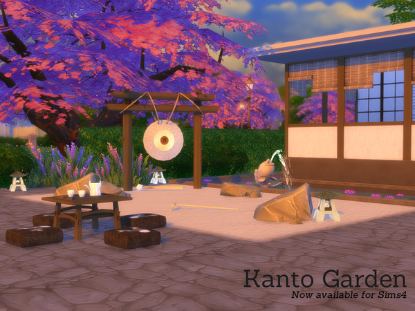 Kanto Garden by Angela