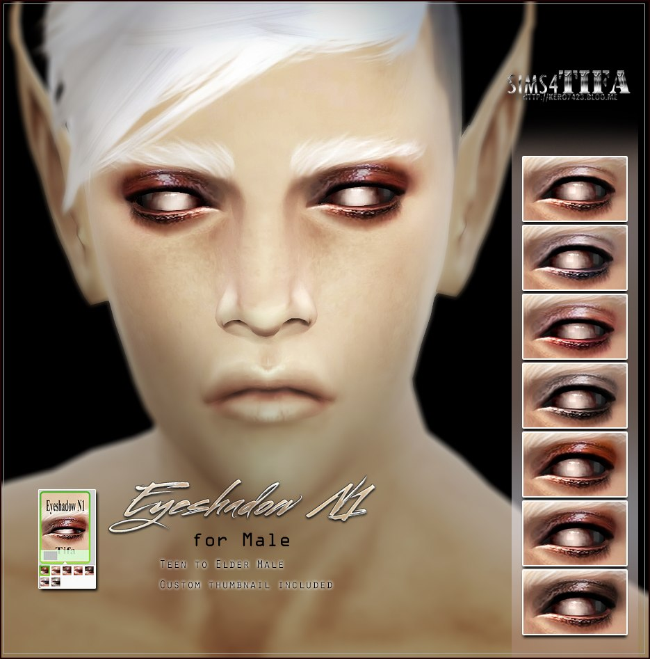 Eye Shadow for Males & Females by Tifa