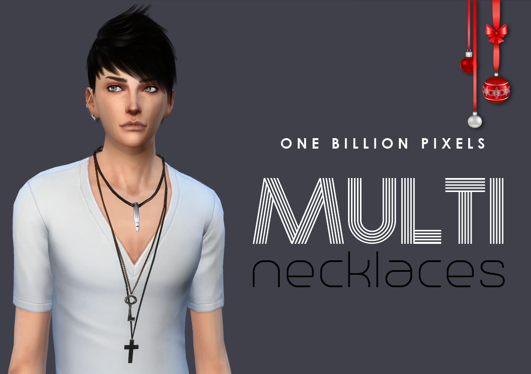 Multi Necklaces for Teen - Elder Males by NewOne