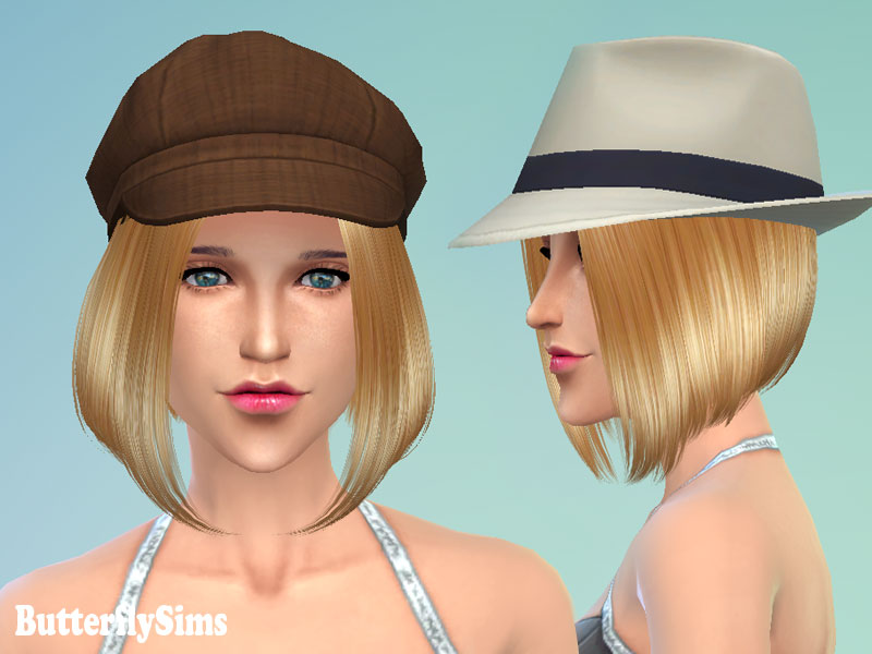 Hairstyle 124 by Butterfly Sims
